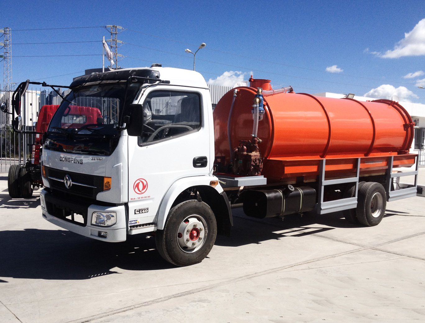 Camion DONGFENG CAPTAIN C93
