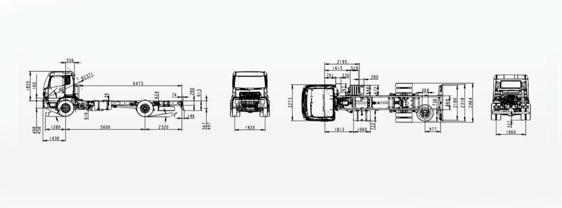Camion poids lourds DONFENG porteur 4*2